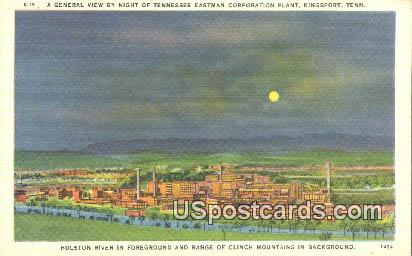 Tennessee Eastman Corporation Plant - Kingsport Postcard