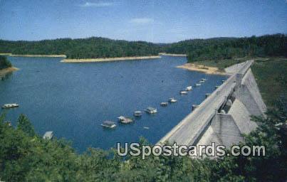 Norris Dam - Tennessee TN Postcard