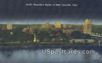 Knoxville, TN Postcard     ;     Knoxville, Tenn - Tennessee TN