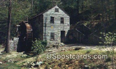 18th Century Grist Mill - Knoxville, Tennessee TN Postcard