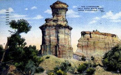 Palo Duro State Park - Texas TX Postcard