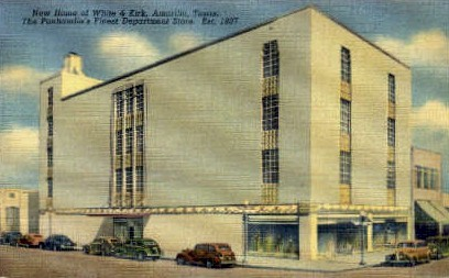 New Home of White and Kirk - Amarillo, Texas TX Postcard