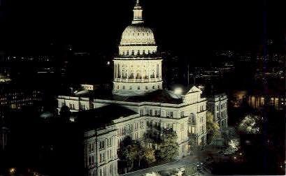 The Capitol Building - Austin, Texas TX Postcard