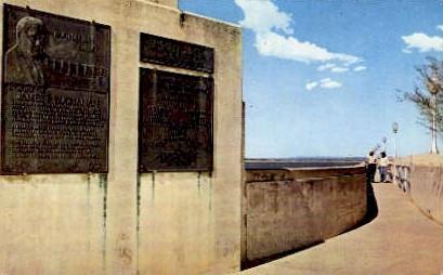 Dedication Plaques - Misc, Texas TX Postcard