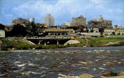 Colorado River - Austin, Texas TX Postcard