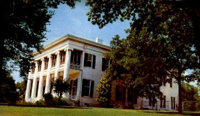 Governer's Mansion - Austin, Texas TX Postcard