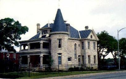 Caswell House - Austin, Texas TX Postcard