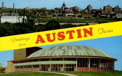 Skyline - Austin, Texas TX Postcard