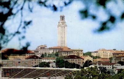 Texas Longhorn Stadium - Austin Postcard