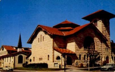 The University Methodist Church - Austin, Texas TX Postcard