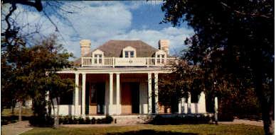 Legation De France - Austin, Texas TX Postcard
