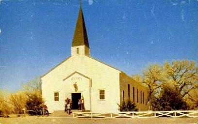 Boys Ranch Chapel - Texas TX Postcard