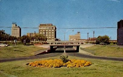 Skyline - Abilene, Texas TX Postcard