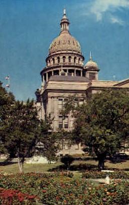 Texas State Capitol - Austin Postcard