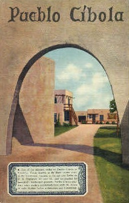 Pueblo Cibola - Amarillo, Texas TX Postcard