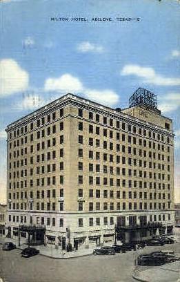 Hilton Hotel - Abilene, Texas TX Postcard