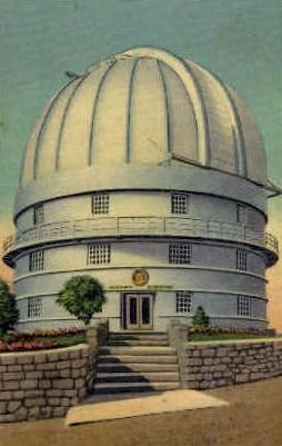 McDonald Observatory - Mount Locke, Texas TX Postcard