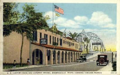 U. S. Custom House - Misc, Texas TX Postcard