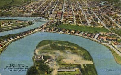 Fort Brown - Brownsville, Texas TX Postcard