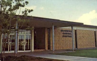 Brownfield General Hospital - Texas TX Postcard