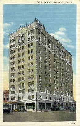 La Salle Hotel - Beaumont, Texas TX Postcard