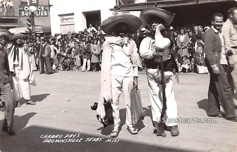 Charro Days - Brownsville, Texas TX Postcard