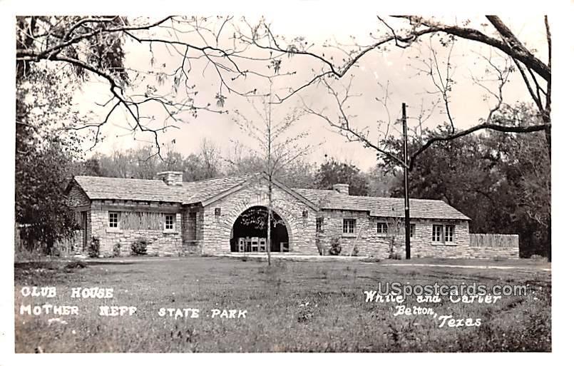 Club House - Belton, Texas TX Postcard