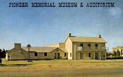 Pioneer Memorial Museum - Crosbyton, Texas TX Postcard