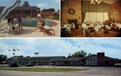 The Surrey Inn - Caldwell, Texas TX Postcard