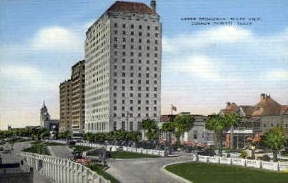Upper Broadway  - Corpus Christi, Texas TX Postcard