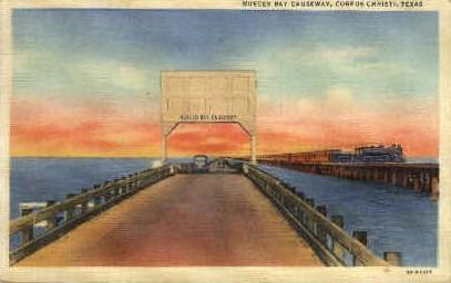 Nueces Bay  - Corpus Christi, Texas TX Postcard
