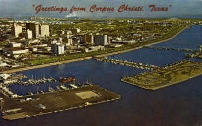 Skyline - Corpus Christi, Texas TX Postcard