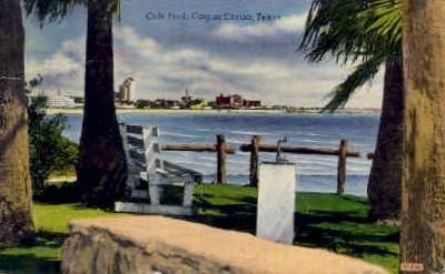 Cole Park - Corpus Christi, Texas TX Postcard