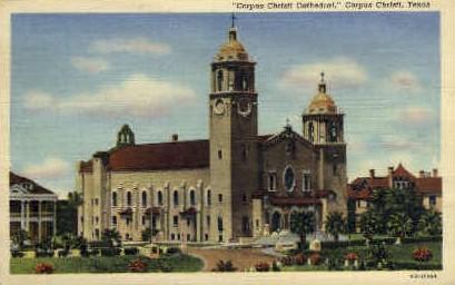 Cathedral - Corpus Christi, Texas TX Postcard