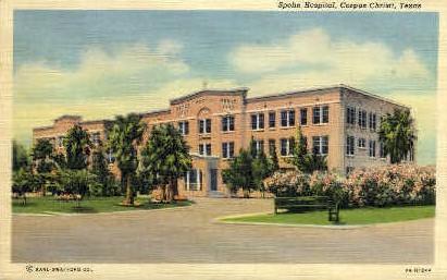 Spohn Hospital - Corpus Christi, Texas TX Postcard