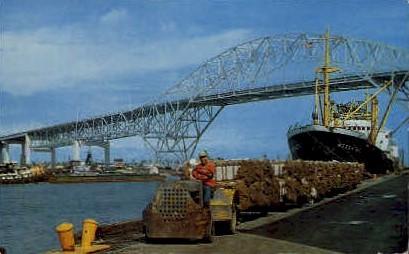 Port Corpus Christi - Texas TX Postcard