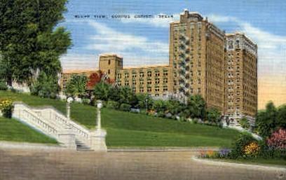 Bluff View - Corpus Christi, Texas TX Postcard