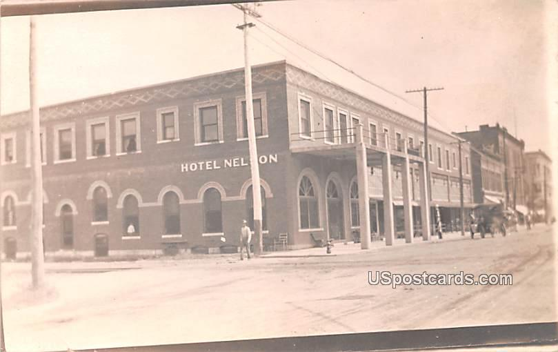Hotel Nelson - Celina, Texas TX Postcard