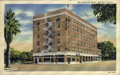 The Roswell Hotel - Del Rio, Texas TX Postcard
