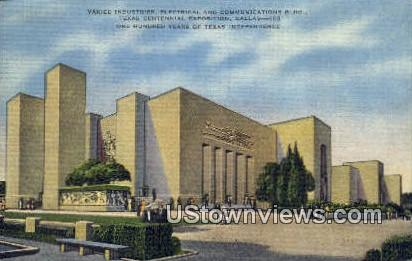 Texas Centennial Exposition - Dallas Postcard