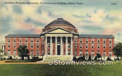 Southern Methodist University - Dallas, Texas TX Postcard