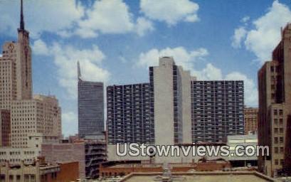 Hilton Statler Hotel - Dallas, Texas TX Postcard