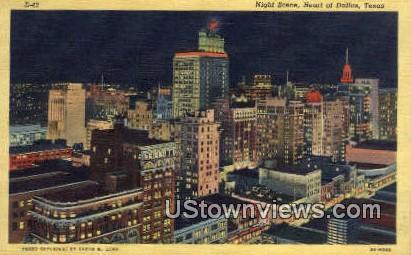 Dallas, TX     ;     Dallas, Texas Postcard