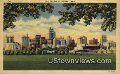 Dallas, Texas      ;     Dallas, TX Postcard