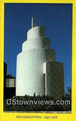 Spiral of Life Chapel - Dallas, Texas TX Postcard