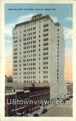 Medical Arts Bldg - Dallas, Texas TX Postcard