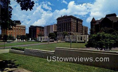 Dealey Plaza - Dallas, Texas TX Postcard