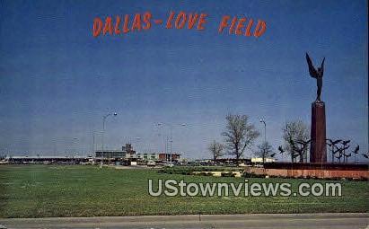 Love Field - Dallas, Texas TX Postcard