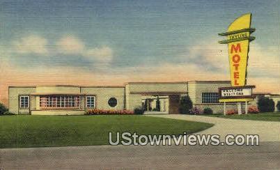 Skyline Motel, 6833 Hines Blvd - Dallas, Texas TX Postcard