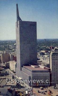 Republic National Bank Bldg - Dallas, Texas TX Postcard